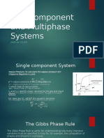 Multicomponent and Multiphase Systems