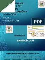 Biomoléculas. Unidad III