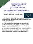 Actividades de Clase Matemáticas Ud 8 24 de Abril