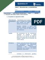 MV-U2- Actividad 1. Biomoléculas y Carbohidratos QUIMICA