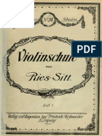 Ries, Hubert - Violinschule Vols_1_2_and_4 Ca1915