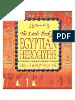The Little Book of Egyptian Hieroglyphs.pdf