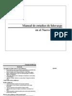 Manual Liderazgo en NT