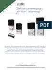 Morningstar Corporation Traditional PWM vs TrakStar MPPT Whitepaper March 2015