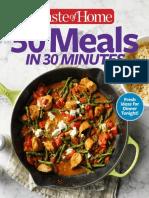 30 Meals in 30 Minutes - April 2017