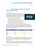Cisco Transport Node Controller and Transport Shelf Controller Cards Data Sheet - TNC