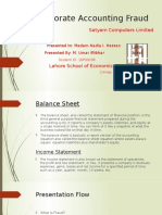 Corporate Accounting Fraud Ppt