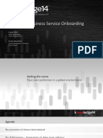 Managing Business Service Onboarding SD Konf