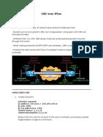 GRE Over IPSec EXAMPIE