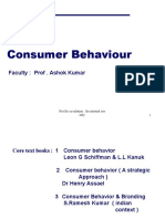 100508761 Consumer Behaviour Schiffman 9th Edition