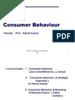 100508761 Consumer Behaviour Schiffman 9th Edition