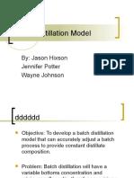 AIChe Batch Model