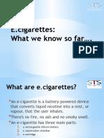 5. e Cigs Presentation