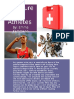 brochure for athletes