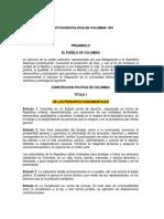 1. Constitución Politica