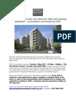 2017-05-02 Mitre Yard Presentation Event and InformationSL