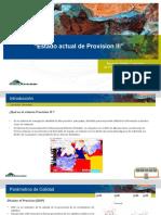 Estado Actual ProvisionIII (Avance )