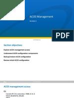A10 ACOS ADC 2.7v2.1 Presentation