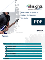 What's New in Epicor 10 Product Configurator