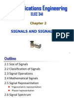 Chap 2 Signals and Signal Space Spring 2017 II
