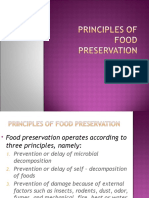 Principles of Food Preservation