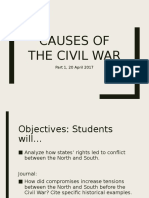 Causes of the Civil War 1