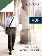 Postgraduate Guide 2017 - Aberdeen