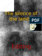 Textual Analysis - Silence of the  Lambs