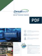 Desalitech ReFlex Brochure 2016