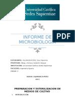 informe 01- microbiologia