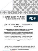 El Mundo de Los Polímeros Trabajo Final