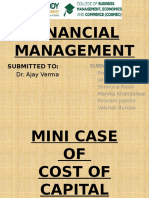 MINI CASE OF COST OF CAPITAL.pptx