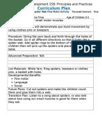 curriculum plan fall 2016 fine motor 15