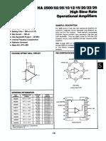 Amplificador Operacional Ha2 2510 8