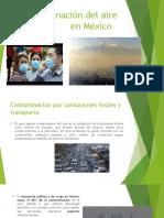 Contaminacion Aire Mexico