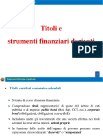 16. Titoli e Derivati 2016-2017
