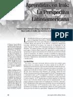 Irak, La Perspectiva AL, Military Review