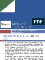 UDP 2015 - Trib II - Clase 15