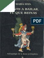 Ponte a Bailar Tu Que Reinas Antropologioa de La Danza Prehispanica PDF