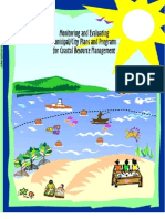 Monitoring and Evaluation of Plans and Programs for Coastal Resource Management