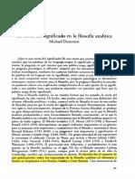 TEORÍA DEL SIGNIFICADO EN LA FILOSOFÍA ANLITICA - M. DUMETT.pdf