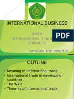 Bab 6 International Business - International Trade Theory