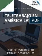 Tele Trabajo en Amrica Latina - 2016-ES Rev Final 21112016 E-ES