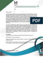 Carta de Invitación Congreso CIFCOM2017 Orlando