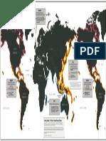 Mapa Mundial de Los Sistemas de Alerta de Tsunami