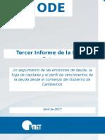 Informe de la deuda UMET