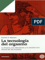 Maines - La tecnologia del orgasmo.pdf