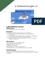 29 Deutsche Redewendungen 29 Luftschlösser_bauen