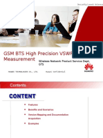 GSM BTS High Precision VSWR Measurement