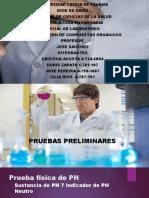 laboratorio 4 de bioquimica